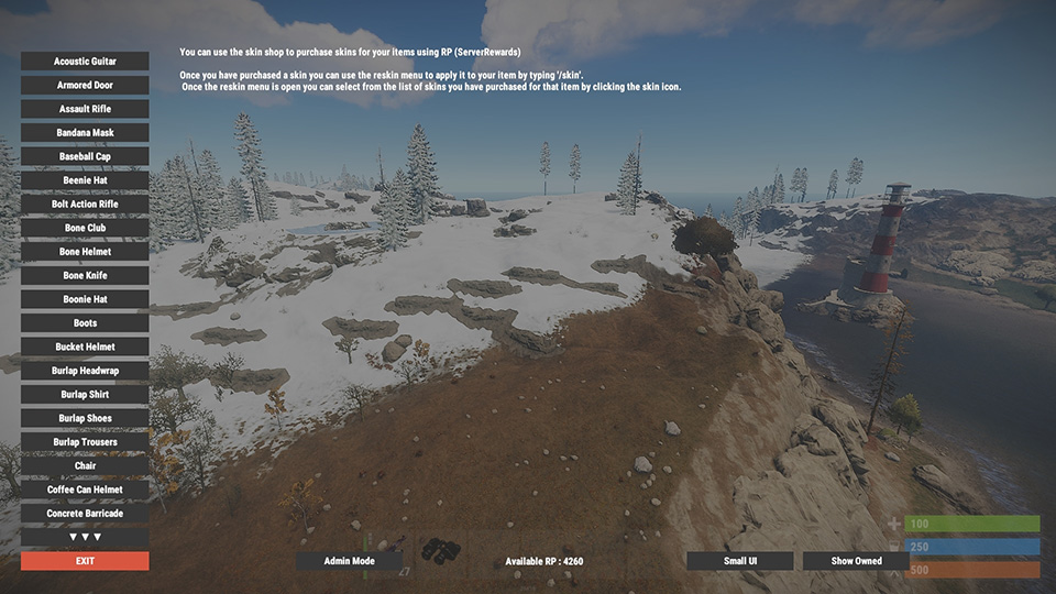 Rust Give Item Command